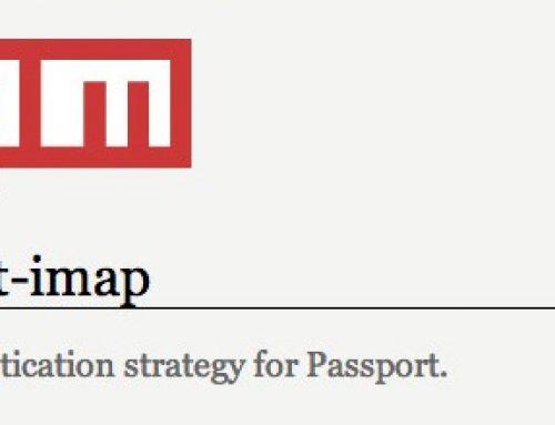 Passport IMAP – IMAP authentication strategy for Passport
