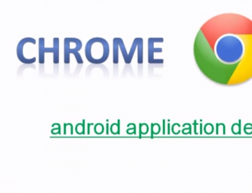 Android application debugging utilizing Google Chrome